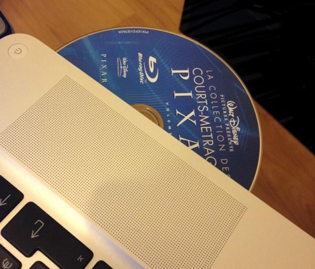 Un Blu-ray dans un MacBook Pro