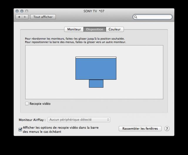 MacBook Air 11 pouces vs. 4K 65 pouces