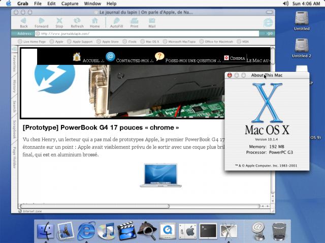 PowerPC, 192 Mo de RAM