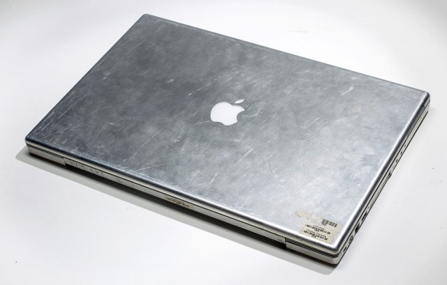 Un prototype de PowerBook chromé