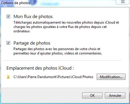 iCloud et les photos