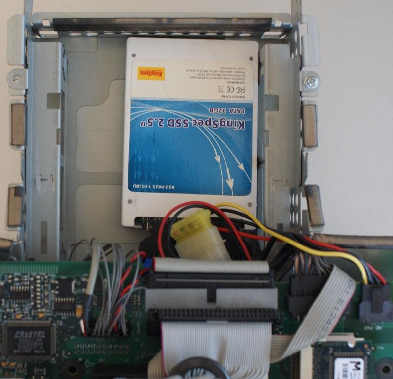 Le SSD en place