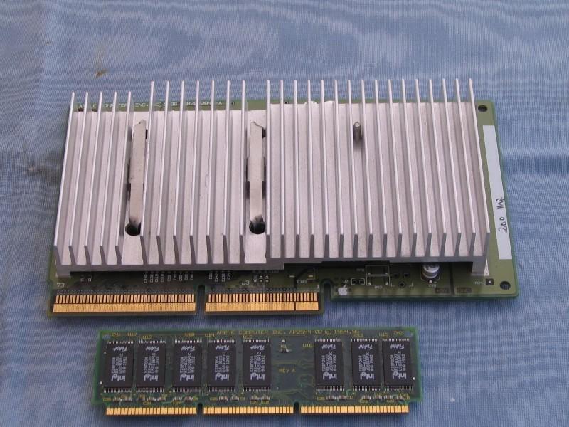 La mémoire et le CPU