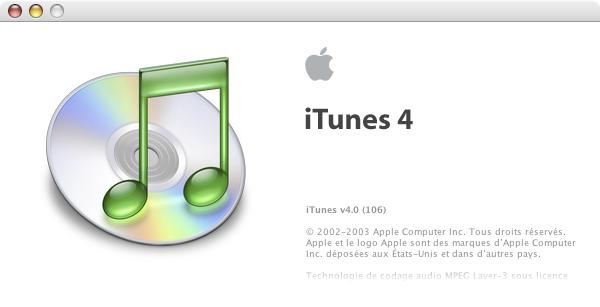 iTunes 4.0