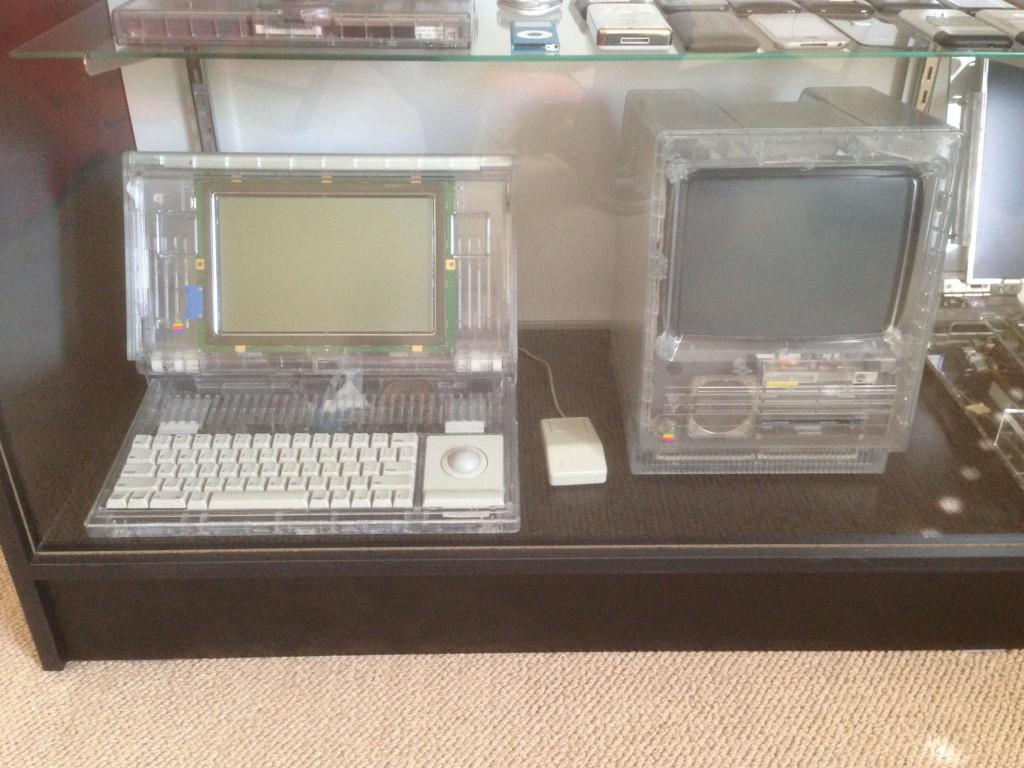 Avec un autre Mac transparent