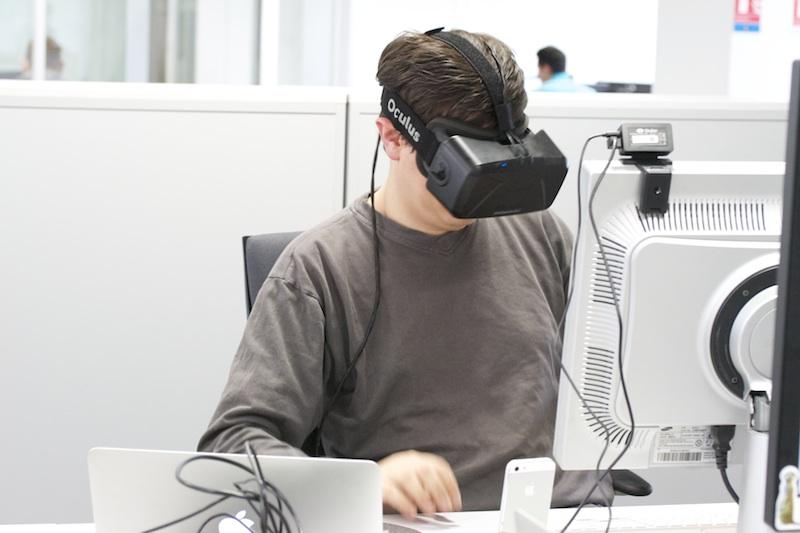 Moi et l'Oculus Rift