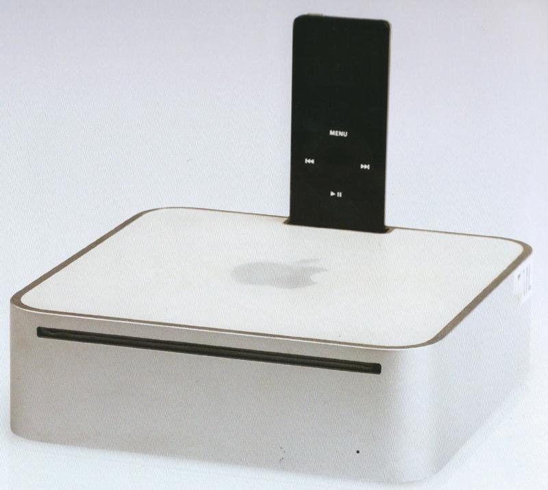 Un Mac mini avec dock iPod intégré