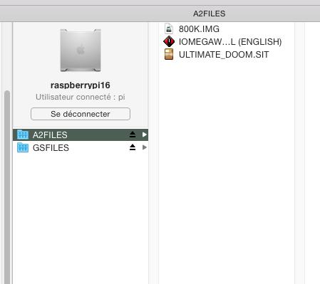 Sous OS X