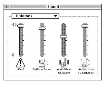 L'audio