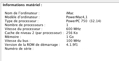 G3 600 MHz