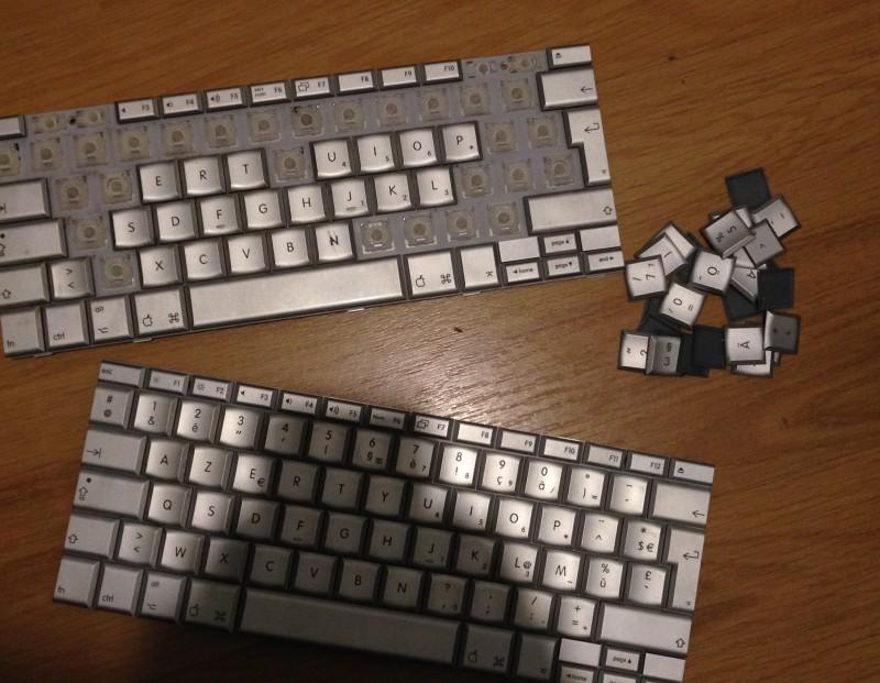 Changement de clavier