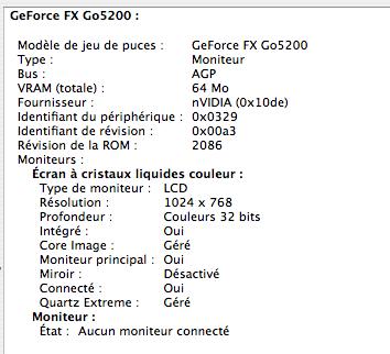 GeForce FX 64 Mo
