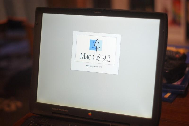 Sous Mac OS 9