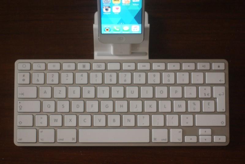 Avec un iPhone