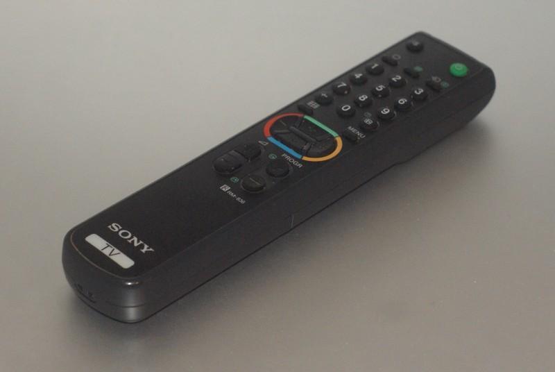 Une télécommande Sony