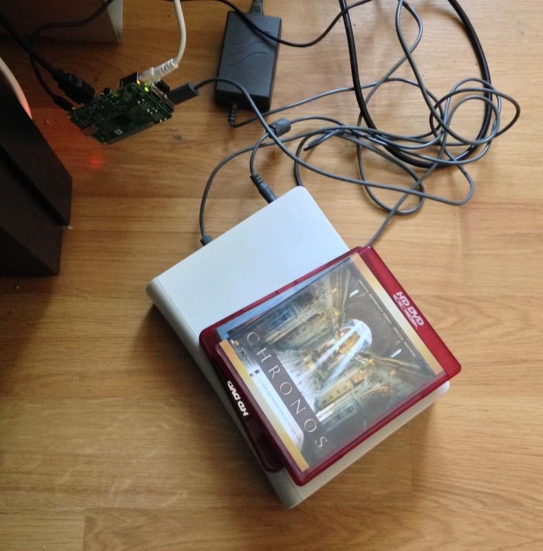 Le Raspberry Pi et son lecteur