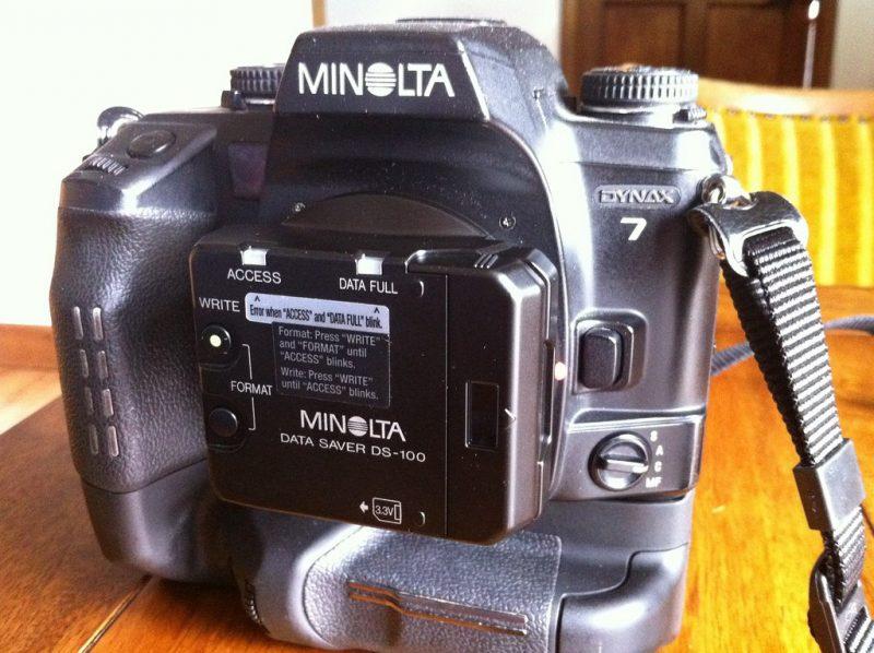 L'adaptateur Minolta
