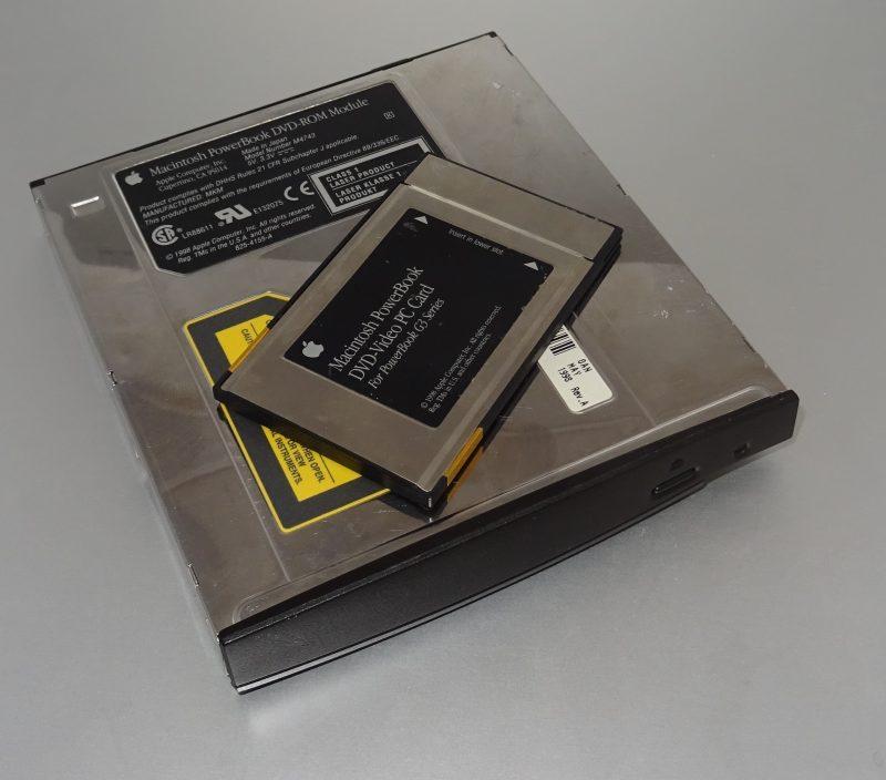 La carte de décompression et le lecteur de DVD