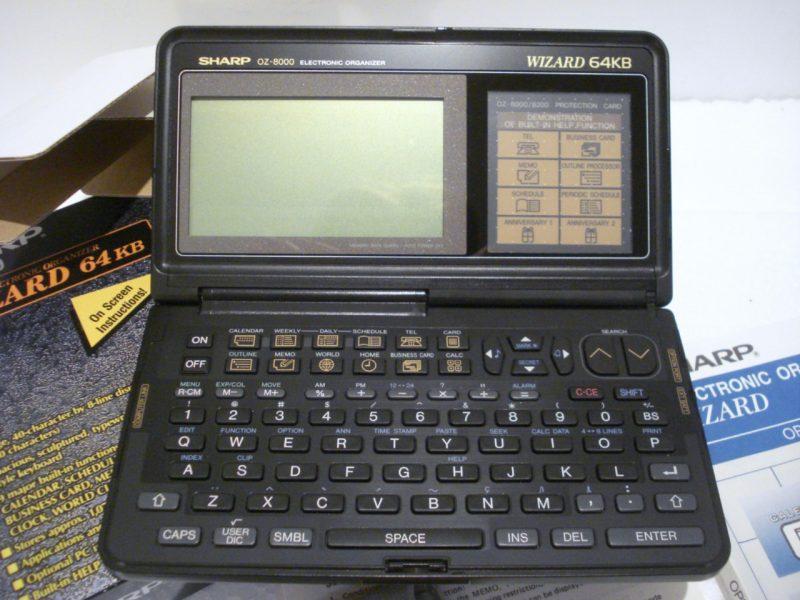 """Les données sur un """"PDA"""""""