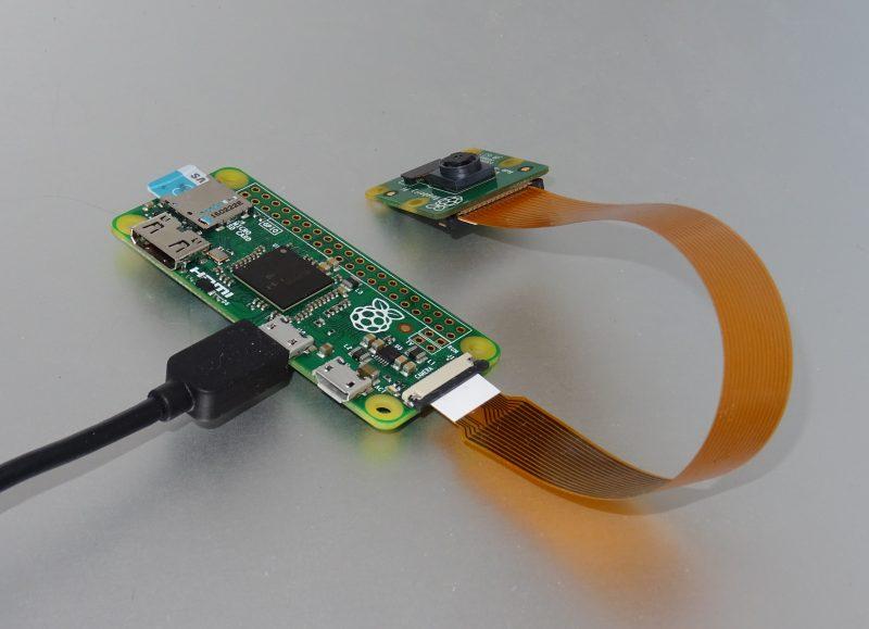 Raspberry Pi Zero v2 + caméra v2