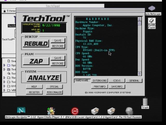 PowerPC à 66 MHz