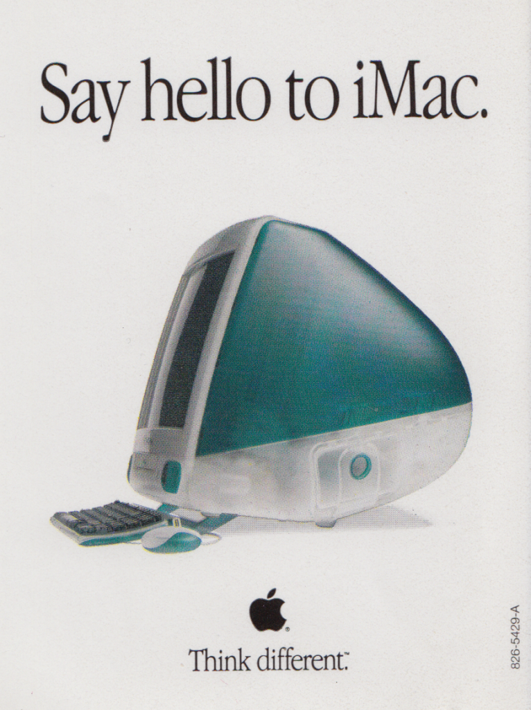 Say hello to iMac.