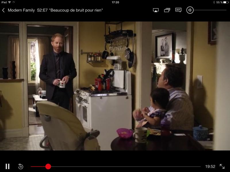 Netflix sous iOS 9