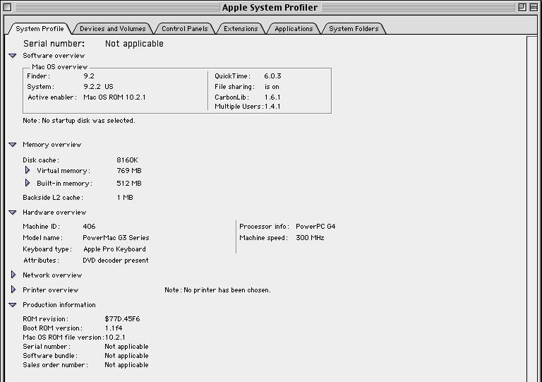 A 300 MHz (premier test)