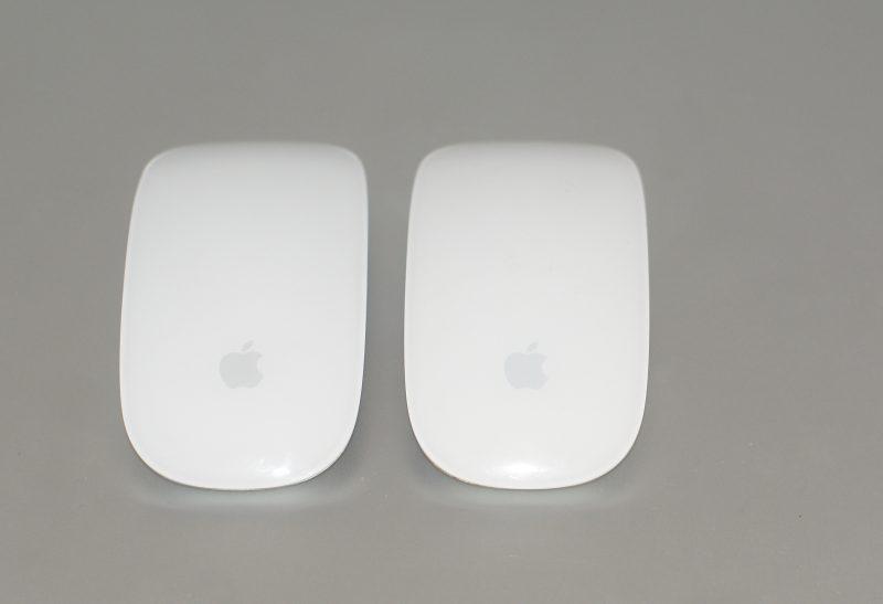 La version 2 à gauche