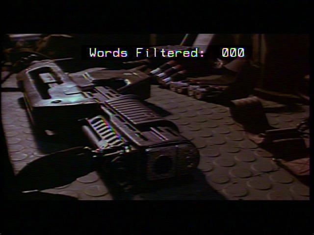 Le nombre de mots filtrés