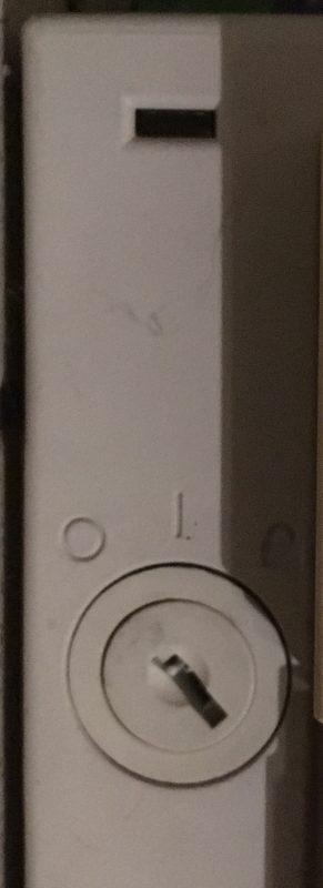 Le bouton d'allumage