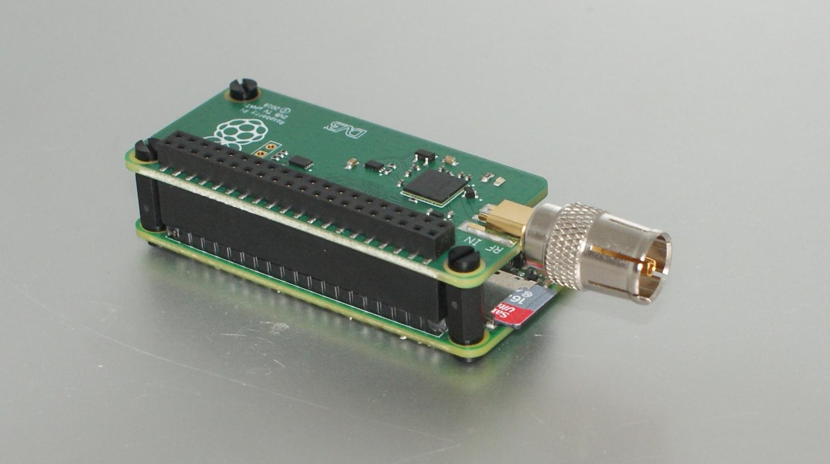 Petit test du TV Hat pour Raspberry Pi | Le journal du lapin